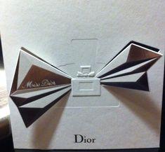 Dior - Carte parfum