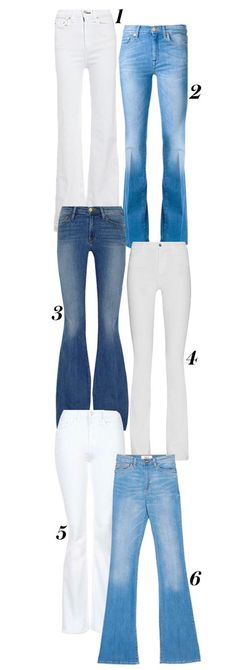 Shop our favorite flared jeans on the market right now.