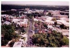 Disney MGM Studios as seen from the top of Tower of Terror before the sorcerers hat  at Walt Disney World via @Daveh787