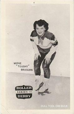 Vintage Roller Derby @Valerie Avlo Fischer