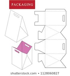 Origami Box Paper Packaging Ideas For 2019 Paper Gift Box, Diy Gift Box, Diy Box, Paper Gifts, Cardboard Box Crafts, Paper Crafts Origami, Origami Box, Paper Bag Design, Paper Box Template
