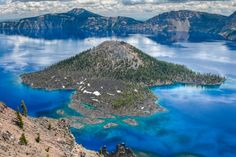 Le Crater Lake en Oregon