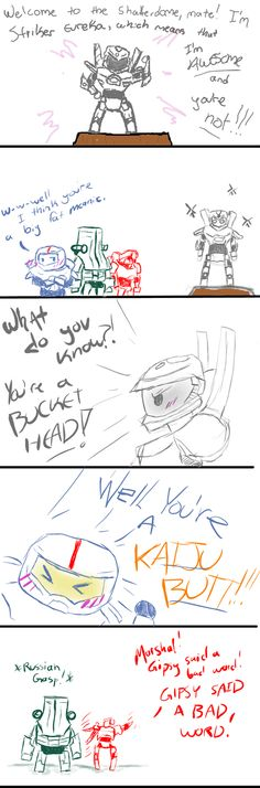 Chibi Jaeger Adventures 2! by RyokoToast on deviantART