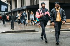 London Men's Fashion Week Street Style Day 2 Fall 2017, The best street style from London Fashion Week Men's, LFWM Collections Street Style