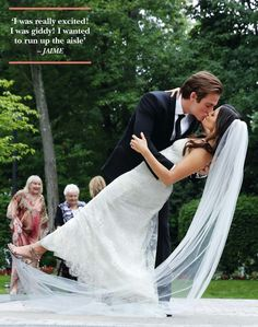 Kevin Zegers wedding and Jamie's thought on it