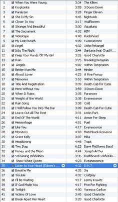 Fan Playlist