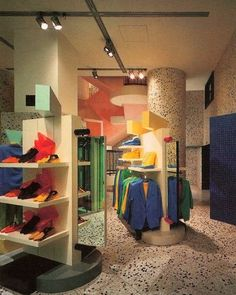 1980s mall shop.