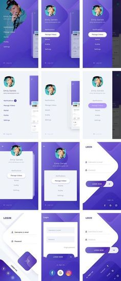 This is our daily iOS app design inspiration article for our loyal readers. Every day we are showcasing a iOS app design whether live on app stores or only designed as concept. Ux Design, Ios App Design, Mobile App Design, Android App Design, Mobile App Ui, Interface Design, Interface App, Android Ui, Mobile Mobile