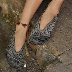 2015 Artmu Vintage Retro Handmade Cowhide Cutout Sandals Women Flat Sandals