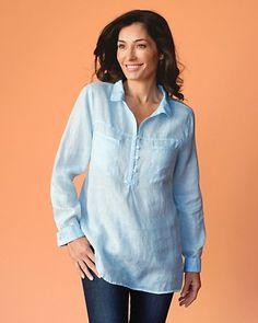 Plein Air Linen Shirt