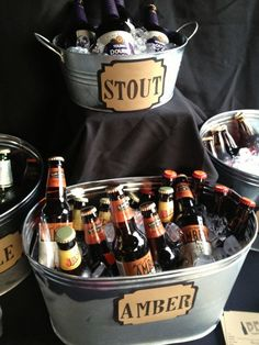 Beer Tasting Party *Fun idea!