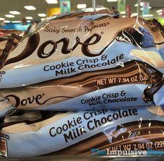 Dove Cookie Crisp & Milk Chocolate Promises