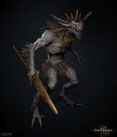 ArtStation - Creature concept for Spellforce 3, Maxim Verehin