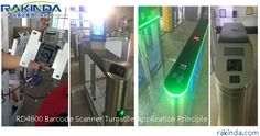 RD4600 Barcode Scanner Turnstile Application Principle Engineering, Scanner, Technology, Tech, Tecnologia, Mechanical Engineering