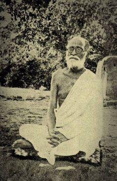 Rare photo of Srila Bhaktisiddhanta Sarasvati