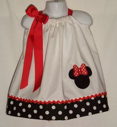 Minnie Mouse Pillowcase Dress / Disney / Mickey by KarriesBoutique, $29.95