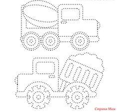 Прописи-обводилки для малышей - Страна Мам