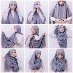 visuel modele hijab simple