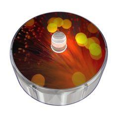 Orange Party Dot Design 009