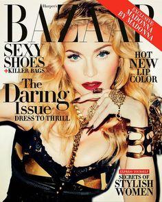 Madonna for Harper's Bazaar US November 2013-Truth or Dare?
