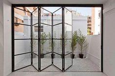 ideas for french door design balcony The Doors, Windows And Doors, Wood Doors, Crittal Doors, Crittall Windows, House Extension Design, Steel Windows, Kitchen Doors, Bi Folding Doors Kitchen