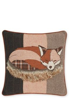 Buy Freddie The Fox Appliqué Cushion from the Next UK online shop
