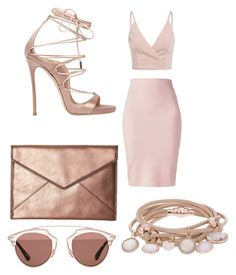 """""""Nude love ❤️"""" by hilal-arslan on Polyvore featuring Dsquared2, Winser London, Marjana von Berlepsch, Rebecca Minkoff and Christian Dior"""