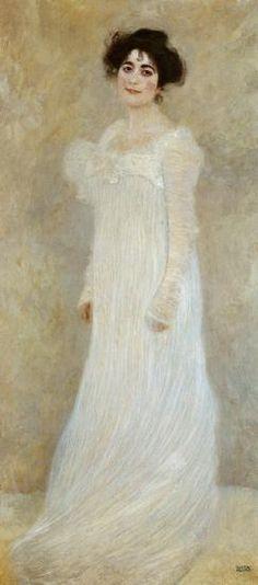 Gustav Klimt - Portrait de Serena Lederer