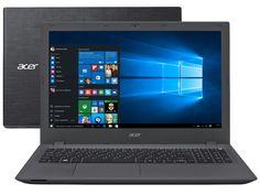 """Notebook Acer Aspire E5 Intel Core i7 8GB 1TB LED 15,6"""" Placa de Vídeo 2GB Windows 10 - Notebook - Magazine Luiza"""