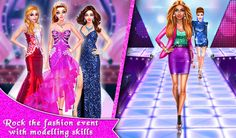 Play this Fashion Show Stopper Game & experience the glamorous world of and perform all the tasks to become a Fashion Games, Fashion Models, Fashion Show, Free Games For Kids, Games For Girls, Next Fashion, Girl Fashion, Perfect Body Shape, Dance Games
