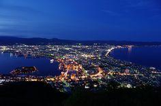 函館山夜景 Mt Hakodate Japan