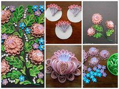 Quilled painting