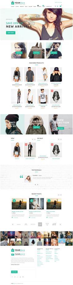 YourStore - Woocommerce theme, eCommerce WooCommerce