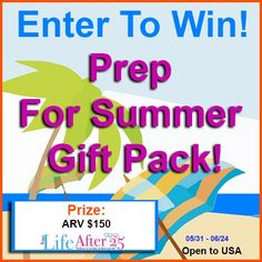 cool Top Summer Sweeps for Friday #giveaways #sweeps #enter #win