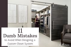 How many custom closets have you designed in your life?How many custom closets has your builder or remodeler designed in the history of their business?If your answer to these questions is zero, nada, none, nient – you're not alone (no matter what language you say it in).Closet design is a niche business. It's not something the average homeowner (or production builder or remodeler) does daily (or ever).The challenge with this is IF you want/need a custom closet for your master bedroom, a…
