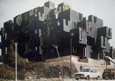 Richardo Bofill i Taller, zespół mieszkalny Valpineda w Sitges, Barcelona, 1967-1969