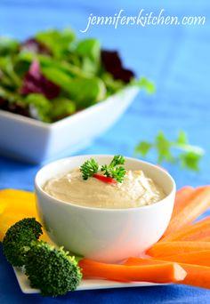 Recipe for Tahini Dip ... and What is Tahini?