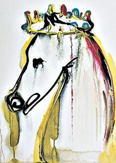 Caligula's horse Incitatus by Salvador Dali, c. 1971