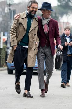 Don't look now Darren but the style police are following us