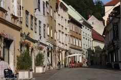Ljubljana's Old Town is lined with pretty pastel-coloured buildings and cobbled streets. Despite being the Slovenian capital, Ljubljana has a very friendly and relaxed feel to it.