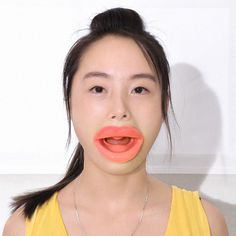 Face Slim Exerciser Muscle Lips Trainer Tightener Face-lift Slimmer Massage Silicone Rubber Anti-Wrinkle Mouth Oral Exerciser