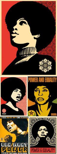 #blackpower #afrofeminas #angeladavis