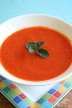 La Madeleine Red Pepper Soup