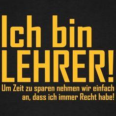 Suchbegriff: U0027Schule Lehreru0027 T Shirts Bei Spreadshirt ✓ Einzigartige  Designs ✓ 30 Tage Rückgaberecht ✓ Jetzt Schule Lehrer T Shirts Online  Bestellen!