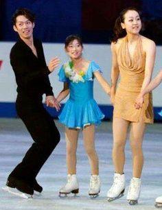 With Mao Asada : NHK Trophy 2013