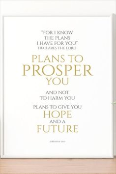 We serve a God who may not always rescue us immediately from our situations but rather promises that He has a plan for our lives to prosper us and give us a hope! #godisgood #fathergod #jesuschrist #christians #hope #godsplan #future #etsy Printable Designs, Printable Wall Art, Printables, I Know The Plans, Gods Plan, Working Woman, God Is Good, Christian Faith, Custom Invitations