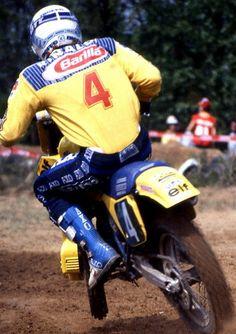 Michele Rinaldi  - World Champion 125cc.  - 1984