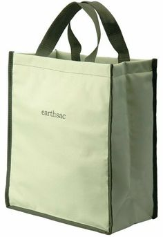 Earthsac Reusable Shopping Bag w/ Cross Stitched Handles by US Acrylic. $3.99. It is reusable shopping bags. Made from a durable, 600 denier polyester fabric. Cross-stitched handles for comfort and durability. Earthsacs are the most durable and well-constructed re-usable shopping bags on the market today. They are designed to transport a greater variety of items and a greater payload, without compromising their shape and style. The Earthsac exterior is made from a durabl...