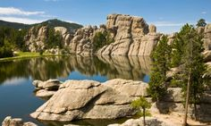 Custer State Park, South Dakota.  Was FREEZING cold when we were there.. and that was in May !