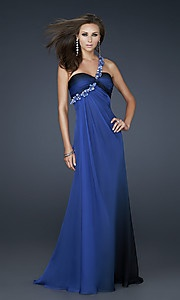 Love the royal blue color...simple but a little sparkle to make it beautiful!